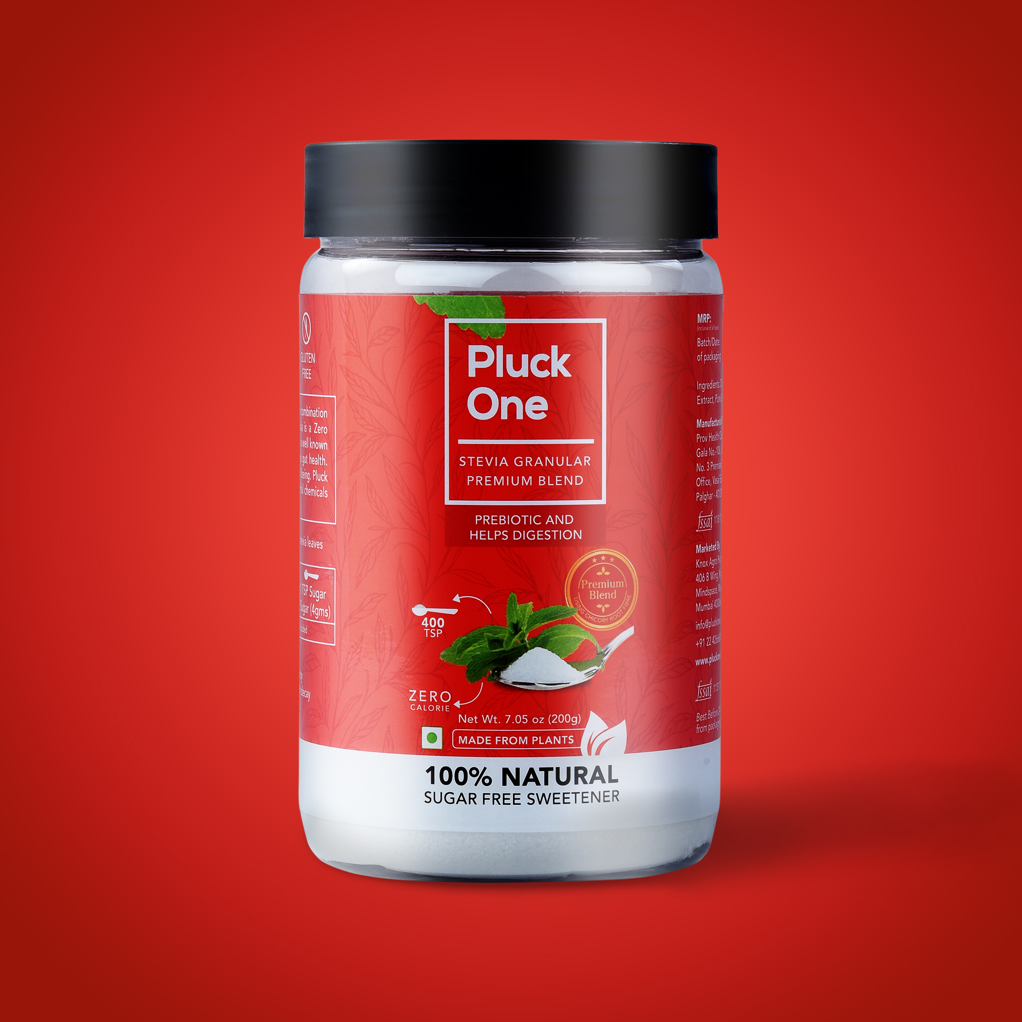 Pluck One Mockup(Red)