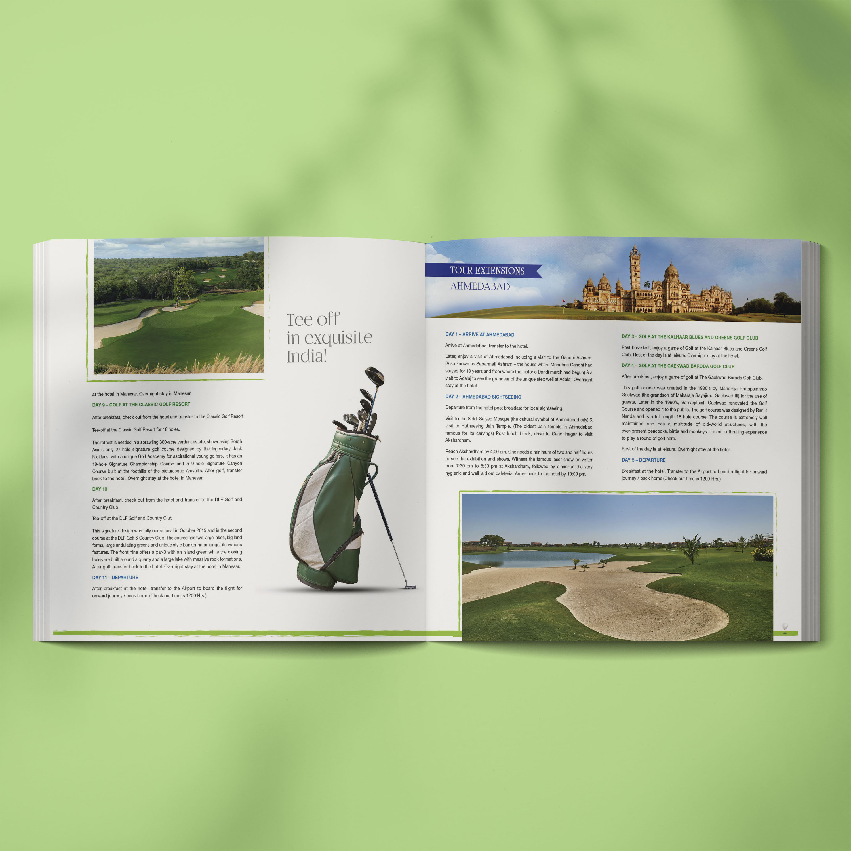 Beige textbook cover design mockup